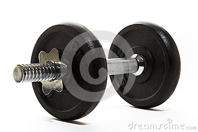 Dumbell Isolated