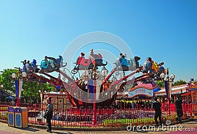 Dumbo ride at disneyland Editorial Photo