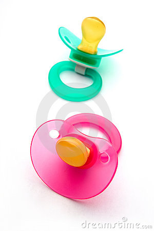 Free Dummies Or Pacifiers Royalty Free Stock Photos - 1311538