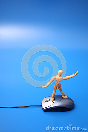 Dummy surfing on the net