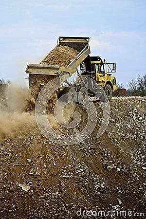 Free Dump Truck Stock Photo - 42146730