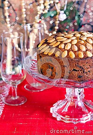 Dundee Cake Clip Art : Dundee Cake Stock Photo - Image: 44243726