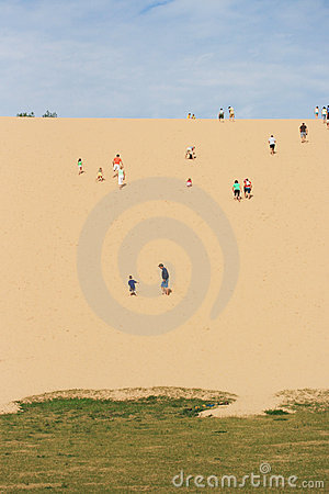 Free Dune Climb Stock Photography - 12755062