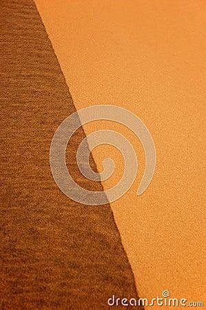 Dune edge detail