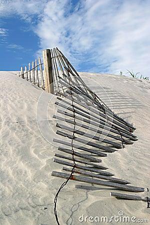 Free Dune Fence Stock Photo - 2542580