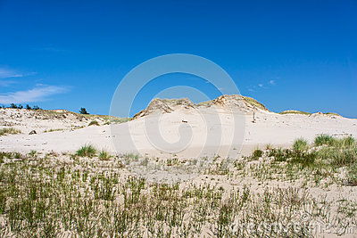 Dunes in Leba, Poland