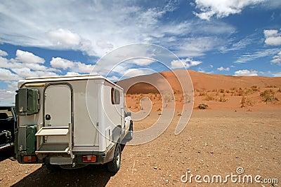 Dunes of Sossuvlei. Namibia