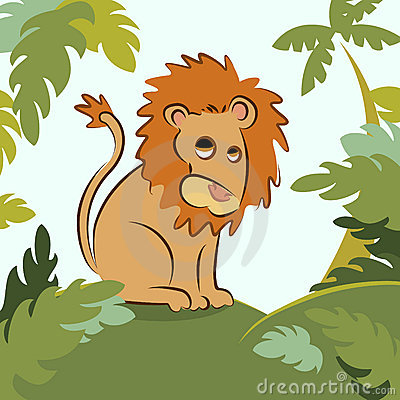 Dżungla lew
