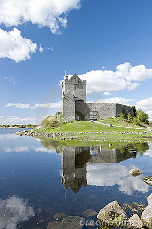 Dunguaire Castle in Kinvara, Ireland.