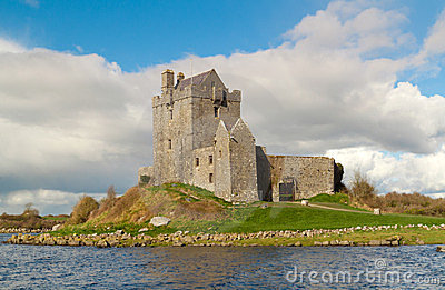 Dunguaire castle in west Ireland