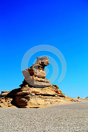 Free Dunhuang Yadan Devil City Stock Images - 97753084