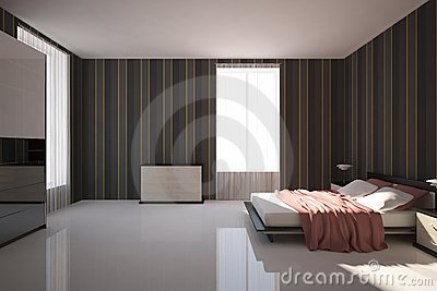 dunkles schlafzimmer stockfotografie bild 18155582. Black Bedroom Furniture Sets. Home Design Ideas