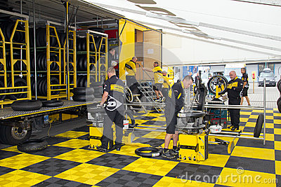 Dunlop crew Editorial Stock Photo