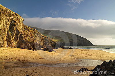 Dunquin bay beach
