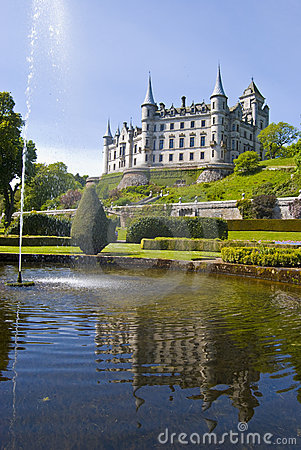 Free Dunrobin Castle Stock Photo - 7416770