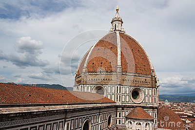 Duomo Basilica Cathedral Church, Firenze, view from Giotto s Bel
