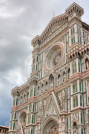 Duomo basilica in Florence, Italy