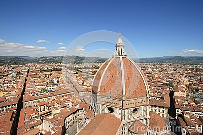 Duomo and the city of Florence