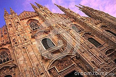 Duomo di Milano, oblique view