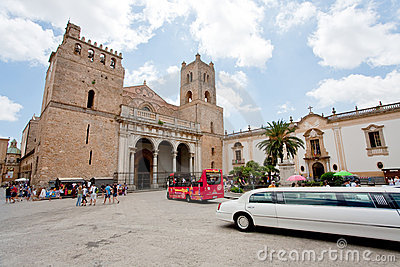Duomo di Monreale, Sicily Editorial Image