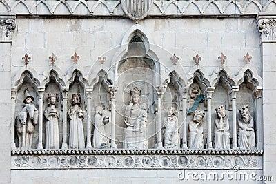 The duomo of Gemona del Friuli