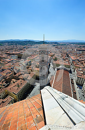 Duomo and Giotto campanila in Florence