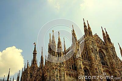 Duomo, Milan Gothic architecture