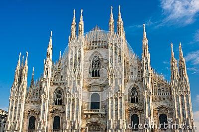 Duomo in Milan, Italy.