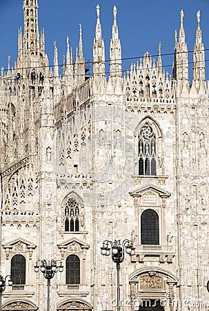 The duomo Milan Italy