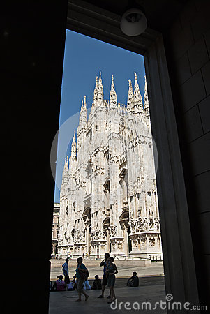 Duomo of Milano Editorial Stock Image