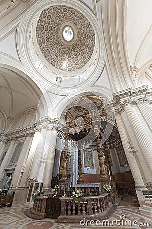 Free Duomo Of Foligno, Interior Royalty Free Stock Image - 23398496