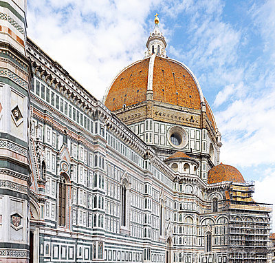 Free Duomo Santa Maria Del Fiore . Florence, Italy Royalty Free Stock Images - 20751079