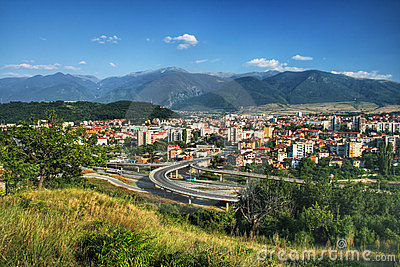 Dupnica - small city of Bulgaria