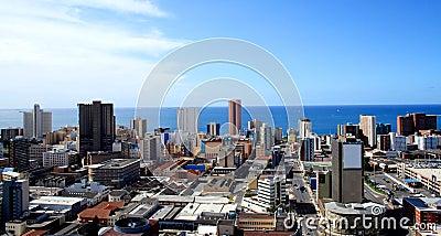 Durban city skyline