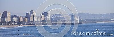Durban city skyline Editorial Stock Image