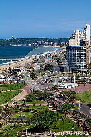Durban coastline Editorial Photography