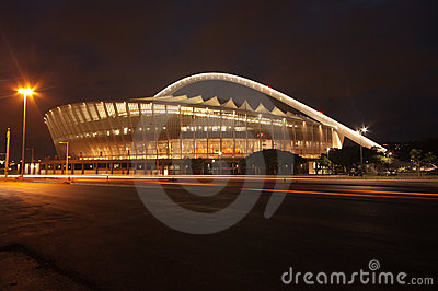 The Durban Moses Mabhida Soccer Stadium Editorial Photography