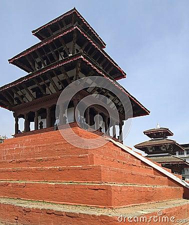 Durbar Square - Kathmandu - Nepal Editorial Image