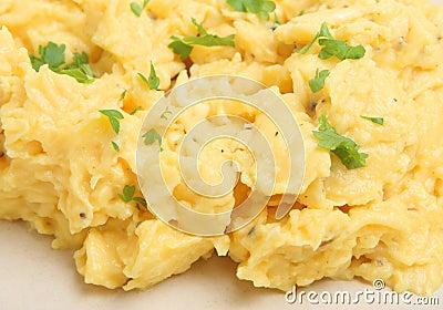 Durcheinandergemischte Eier