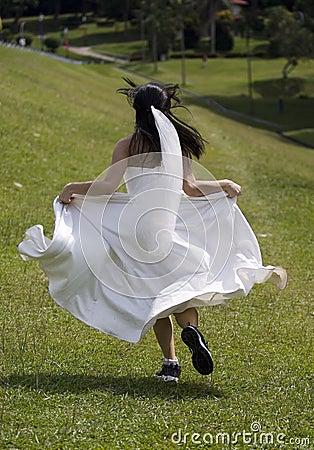 Durchgehen-Braut 1