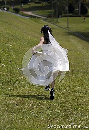 Durchgehen-Braut 2