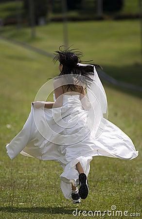 Durchgehen-Braut 3