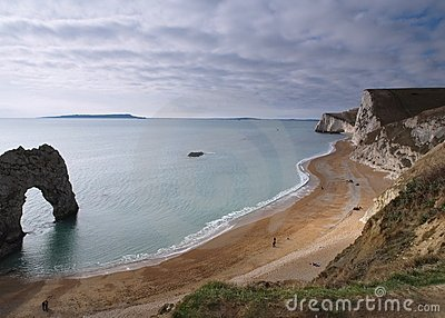 Durdle Door, Dorset Beach Landscape