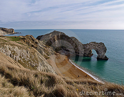 Durdle Door and Dorset Coastline, England