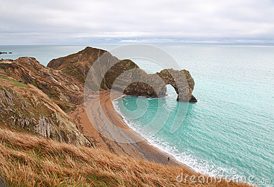 Durdle Door sea arch in England