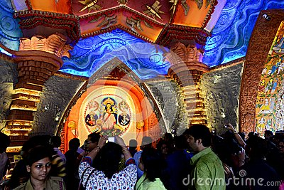 Durga Festival Editorial Stock Image