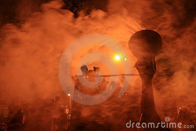 Durga puja festival Editorial Stock Photo