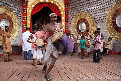 Durga Puja Festival Stock Photo - Image: 22759770