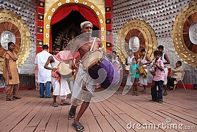 Durga puja festival Editorial Image