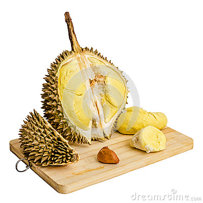 Free Durian. Giant Tropical Fruit. Stock Photography - 32062652